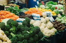 Heap Of Different Vegetables O...