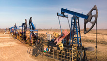 Industrial Machinery Of Oil Extraction Facility