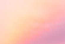 Colorful Sorbet-colored Sunrise