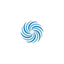 Business Logo, Vortex, Wave An...