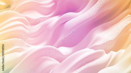 Photo Beautiful luxury elegant backdrop with silk fabric drapery