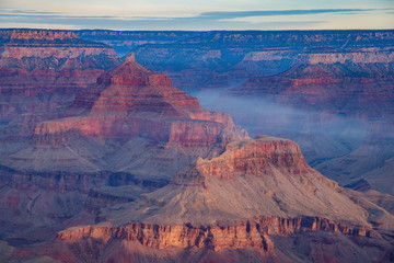 Beautiful landscape of the Grand Canyon National Park