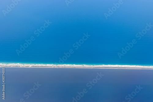 Photo vista azul