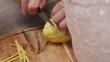 Cut the Lemon Side - Close Up