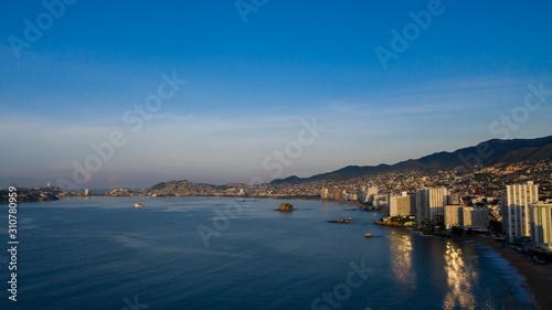 Vászonkép Acapulco bahía - mexico
