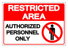 Restricted Area Authorized Per...