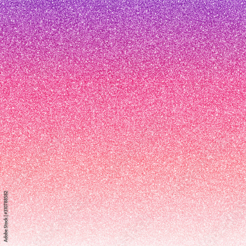 Ombre Glitter Texture - Sparkling glitter texture in colorful ombre gradients Wall mural