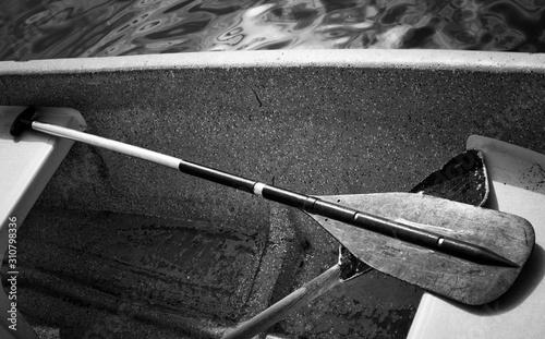 Remo de bote Canvas Print