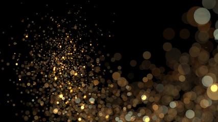 gold shiny background