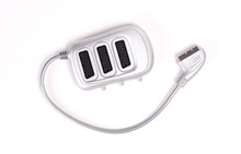 Scart Cable On White Background