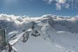 Austrian mountains in winter