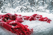 Cup Of Hot Christmas Drink Wra...