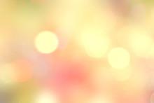 Yellow Natural Bokeh Blurred L...