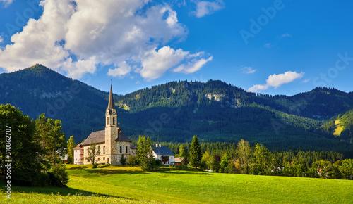 Fotografía  Austria mountain landscape