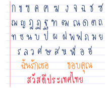 Cute Hand Drawn : Set Of Thai ...