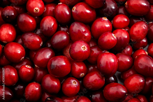Fotografia Vegetarian food and fruits high in antioxidants conceptual idea with full frame