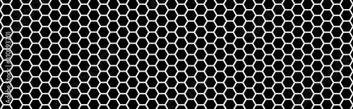 Texture nid d'abeille Canvas Print