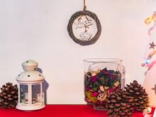 Christmas Decoration Compositi...