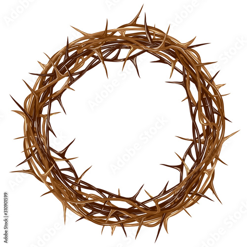 Carta da parati Crown of thorns