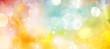 Banner Engel in strahlend hellem Pastelllicht