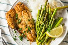 Homemade Sauteed Whitefish Dinner
