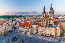 Top Aerial View Of Prague Old ...