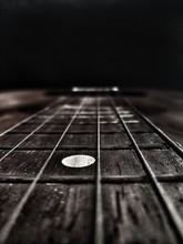 Strings Of Old Guitar