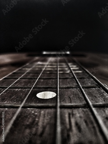 Carta da parati  Strings of old guitar