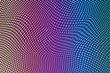 Vector halftone gradient effect. Vibrant abstract background.