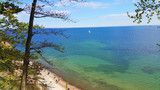 Fototapeta Fototapety z morzem do Twojej sypialni - Klif Orłowo Gdynia widok, Morze Bałtyckie