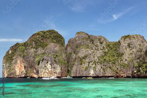 Phi Phi Islands on summer day, Thailand Canvas Print