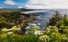 MAY 29, 2019 - OREGON, COASTLINE, USA - Cape Foulweather, Oregon Coastline Along Route 101