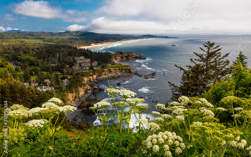 Photo MAY 29, 2019 - OREGON, COASTLINE, USA - Cape Foulweather, Oregon Coastline along