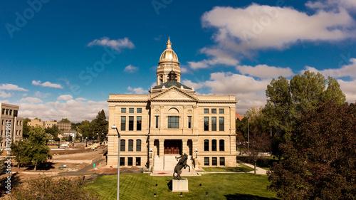Fotomural Wyoming State Capitol, Casper, Wyoming