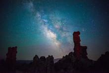 Milky Way Over The Tufa, Mono ...