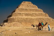 """Sakkara Pyramid Known As """"Step..."""