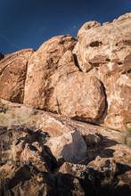 Large Boulders At Hueco Tank, ...