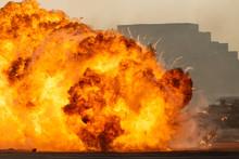 Massive Fire Explosion In Mili...