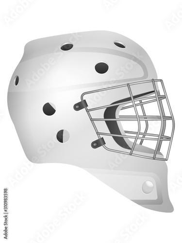 Fotomural Hockey goalie mask