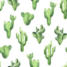Seamless Pattern Wit Watercolo...