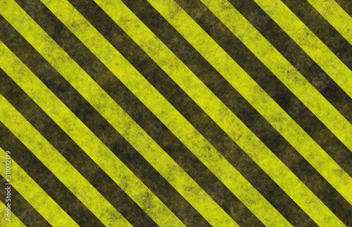 warning grunge stripes Fototapeta