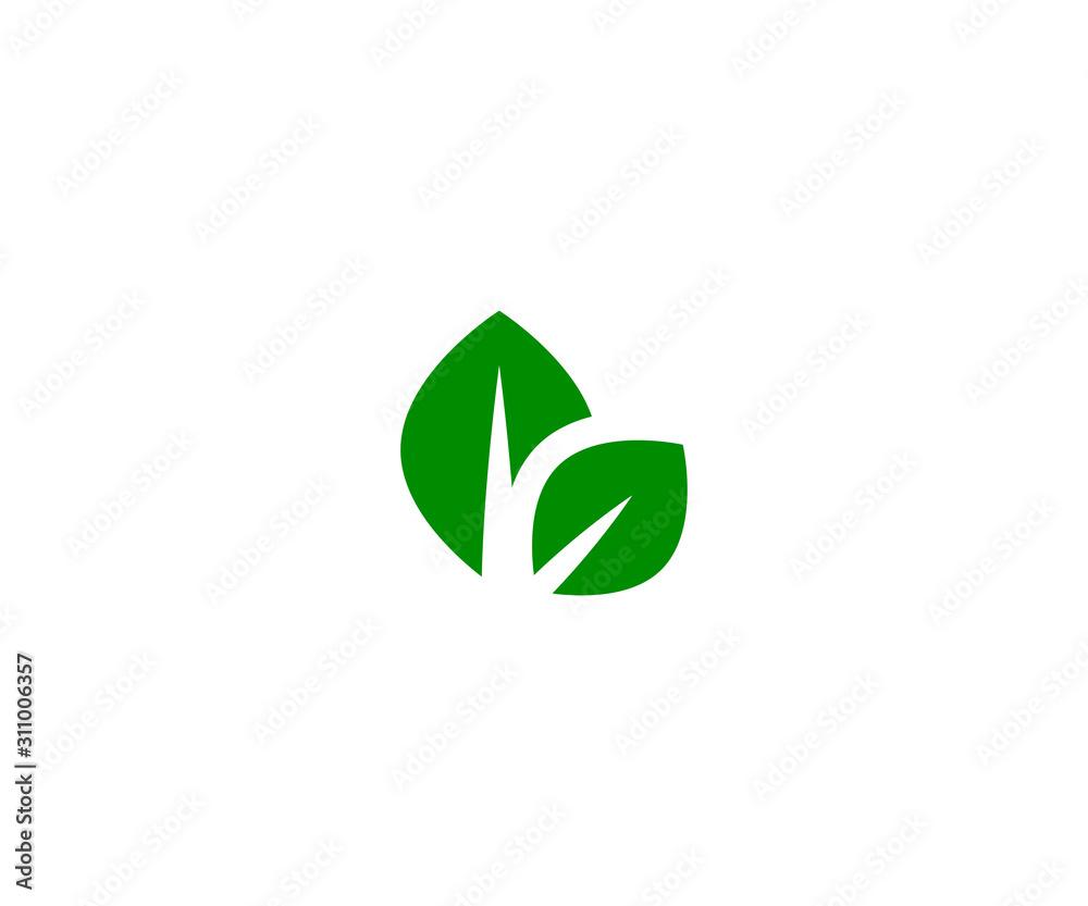 Fototapeta ecology element vector icon