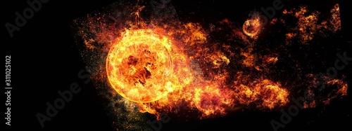 Fotografie, Obraz 炎の渦