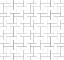 White Zigzag Chevron Pattern B...