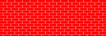 Red Tile Wall Ceramic Texture For Background