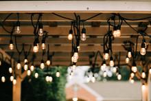 Hanging Vintage String Lights ...