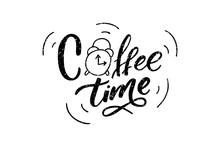 Handwritten Coffee Time Letter...