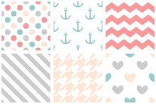 Tile Vector Pattern Set With P...