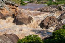 Rapids In Andringitra National Park, Madagascar