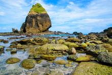 View Of Huge Rocks Beach At Pa...